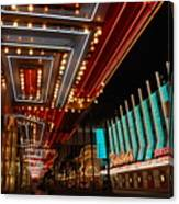 The Lights Are On In Las Vegas Canvas Print