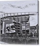 The Linc - Philadelphia Eagles Canvas Print