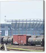 The Linc From The Other Side Of The Tracks Canvas Print
