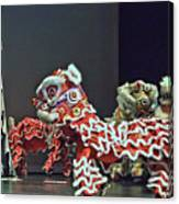 The Lion Dance Camarillo  Canvas Print