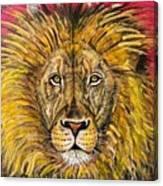 The Lions Selfie Canvas Print