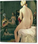 The Little Bather In The Harem Canvas Print