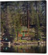 The Little Cabin Canvas Print