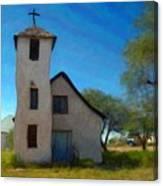 The Little Church Canvas Print