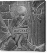 The Little Matchseller Canvas Print