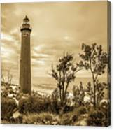 The Little Sable Lighthouse Canvas Print