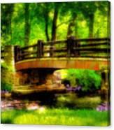 The Little Stone Bridge Canvas Print