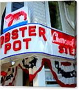 The Lobster Pot #1 Canvas Print