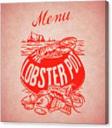 The Lobster Pot 1960s Canvas Print