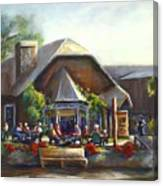 The Local Grill And Scoop Canvas Print