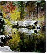 The Loch Canvas Print