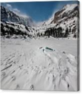 The Loch Under Snow Canvas Print