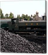The Locomotive Yard Canvas Print
