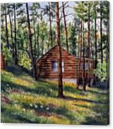 The Log Cabin Canvas Print