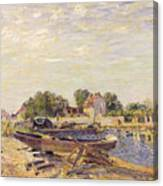 The Loing At Saint Mammes 1885 Canvas Print
