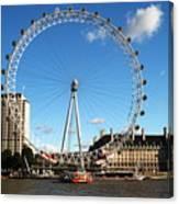 The London Eye 2 Canvas Print