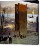 The Lone Tenement Canvas Print