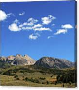 The Lonely Mountains Canvas Print