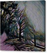 The Long Run Canvas Print