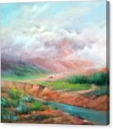 The Long Trail Canvas Print