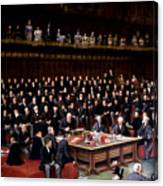 The Lord Chancellor About To Put The Question In The Debate About Home Rule In The House Of Lords Canvas Print
