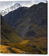 The Lost Valley Glencoe Canvas Print