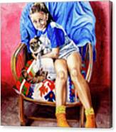 The Loyalty - La Fidelidad Canvas Print