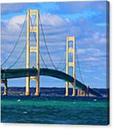The Mackinac Bridge Canvas Print