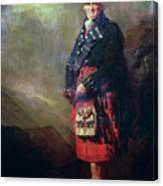 The Macnab Canvas Print
