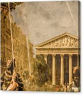 Paris, France - The Madeleine Canvas Print