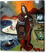 The Madona Canvas Print
