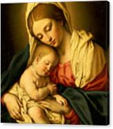 The Madonna And Child Canvas Print