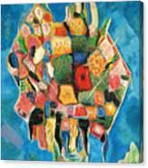The Magic Bouquet Canvas Print