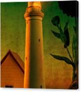 The Magic Lighthouse Canvas Print