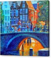 The Magic Of Amsterdam Canvas Print