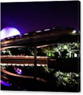 The Magic Of Epcot Canvas Print
