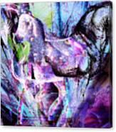 The Magic Of Horses Canvas Print