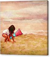 The Magic Of Sand Canvas Print