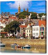 The Magic Of St. Peter Port In Guernsey Canvas Print