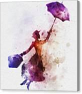 The Magical Nanny Canvas Print
