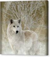 The Magical Wolf Canvas Print