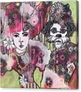the Magicians Assistant Canvas Print