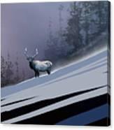 The Magnificent Elk Canvas Print