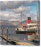 The Maid Of The Loch Canvas Print