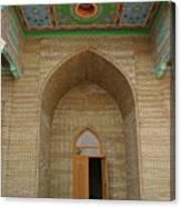 the main entrance, doorway, door, Asia Canvas Print