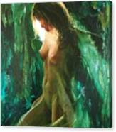 The Malachite Light Canvas Print