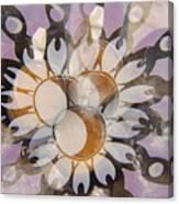 The Many Goddess Mandala Canvas Print