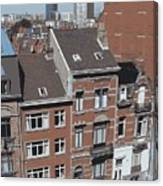 The Many Layers Of Brussels Canvas Print