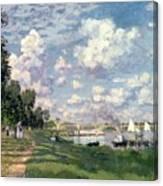 The Marina At Argenteuil Canvas Print