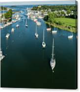 The Marina In Mamaroneck Canvas Print